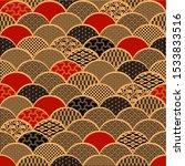 Seamless Pattern In Japanese ...