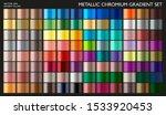 metal gradient. gradient set.... | Shutterstock .eps vector #1533920453