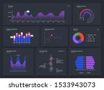 dashboard charts. infographic... | Shutterstock .eps vector #1533943073