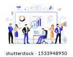 project managers  business... | Shutterstock .eps vector #1533948950
