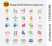 strategy growth   business... | Shutterstock .eps vector #153404288