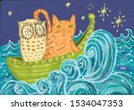 Owl And Pussy Cat Went To Sea...