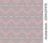 seamless vector pattern in... | Shutterstock .eps vector #1534137470