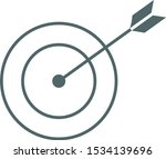 target icon. center icon.... | Shutterstock .eps vector #1534139696