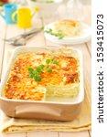 Stock photo zucchini lasagna 153415073