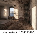 ellis island abandoned hospital ... | Shutterstock . vector #1534213400