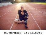 handsome smiling caucasian...   Shutterstock . vector #1534215056