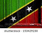 flag of saint kitts and nevis... | Shutterstock . vector #153429230