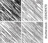 grunge set stripe. vector... | Shutterstock .eps vector #153429470