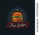 original vector logo of the... | Shutterstock .eps vector #1534376063