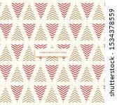 geometric seamless pattern.... | Shutterstock .eps vector #1534378559
