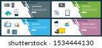 vector set of vertical web... | Shutterstock .eps vector #1534444130