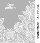 vintage lace background for... | Shutterstock .eps vector #153444656