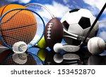 sports equipment | Shutterstock . vector #153452870
