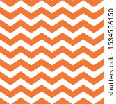 Halloween Orange Chevron...