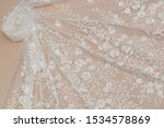Texture Lace Fabric. Lace On...