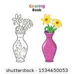 coloring page for children ...   Shutterstock .eps vector #1534650053