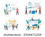 marketing analysis illustration ...   Shutterstock .eps vector #1534671239
