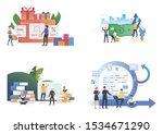 commerce illustration set....