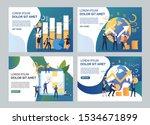 startup illustration set. team...