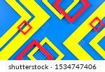 3d rendering abstract...   Shutterstock . vector #1534747406