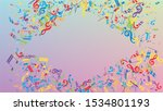 Disco Background. Colorful...