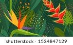 seamless vector pattern ... | Shutterstock .eps vector #1534847129