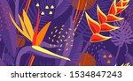 bright juicy hot seamless... | Shutterstock .eps vector #1534847243
