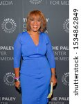 Small photo of NEW YORK, NY - OCTOBER 16: Gayle King attends Hearst's Frank A. Bennack, Jr., in Conversation with CBS's Gayle King at The Paley Center for Media on October 16, 2019 in New York City.