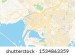 printable street map of karachi ... | Shutterstock .eps vector #1534863359