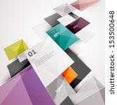 modern colorful design | Shutterstock .eps vector #153500648