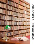 library table  | Shutterstock . vector #153509480