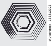 grunge shapes    Shutterstock .eps vector #153513323