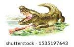 Wild Attacker Forward Crocodil...