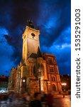 View Of Prague Orloj   Medieval ...