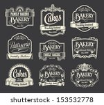 calligraphic vector sign and... | Shutterstock .eps vector #153532778