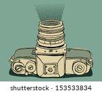 photo camera | Shutterstock .eps vector #153533834