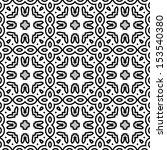 seamless retro pattern. vintage ... | Shutterstock .eps vector #153540380