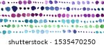 hand drawn abstract dot...   Shutterstock . vector #1535470250