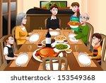 a vector illustration of happy... | Shutterstock .eps vector #153549368