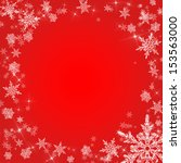 red christmas background with... | Shutterstock . vector #153563000