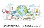 sustainable nature friendly... | Shutterstock .eps vector #1535676170