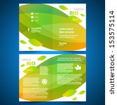 booklet catalog brochure folder ... | Shutterstock .eps vector #153575114