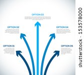 infographics template with... | Shutterstock .eps vector #153578000