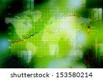 stock market graphs | Shutterstock . vector #153580214