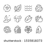 set of nature icons  such as...   Shutterstock .eps vector #1535818373