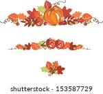 Thanksgiving Autumn Background...