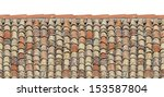 Old Roof Tiles On The Roof Of...