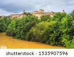 summer city landscape   view of ... | Shutterstock . vector #1535907596