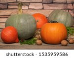 Different Kinds Of Pumpkins....